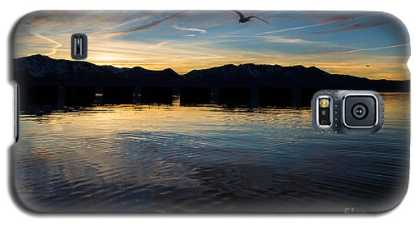 Lake Tahoe Sunset Galaxy S5 Case