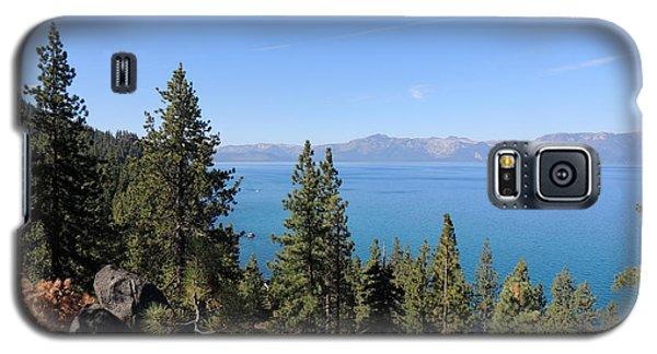 Lake Tahoe Through The Trees Galaxy S5 Case