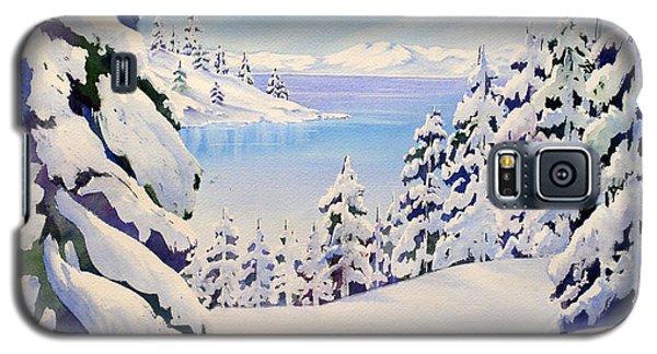 Lake Tahoe Winter Galaxy S5 Case