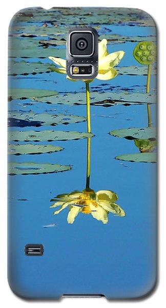 Lake Thomas Water Lily Galaxy S5 Case
