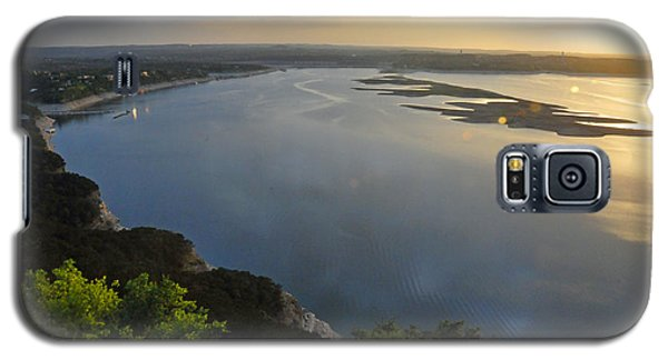 Lake Travis Sunset Galaxy S5 Case