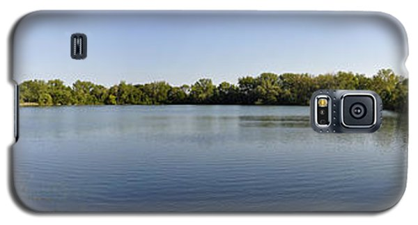 Galaxy S5 Case featuring the photograph Lake Victory by Verana Stark