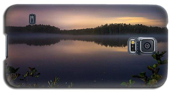 Lake View At Night Galaxy S5 Case