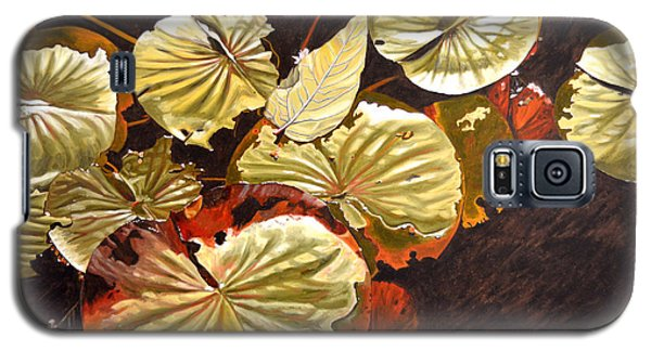 Lake Washington Lily Pad 11 Galaxy S5 Case