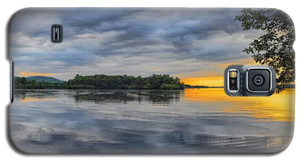 Lake Wausau Summer Sunset Panoramic Galaxy S5 Case