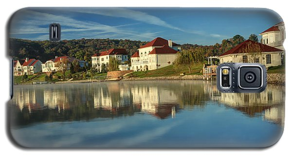 Lake White Morning Galaxy S5 Case