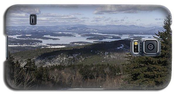 Lake Winnipesaukee In Winter Galaxy S5 Case