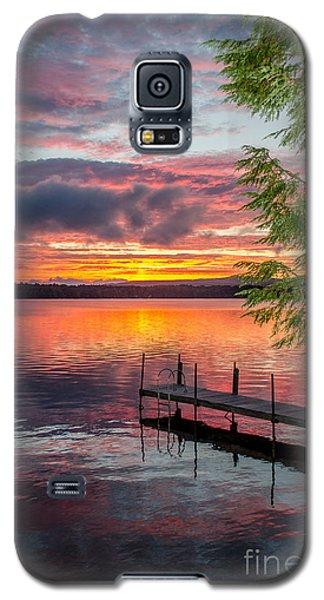 Lake Winnisquam Sunrise 2 Galaxy S5 Case