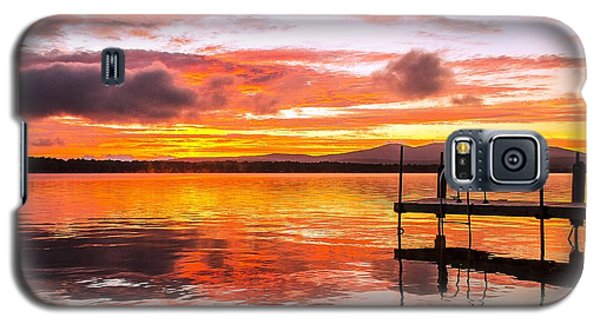 Lake Winnisquam Sunrise Galaxy S5 Case