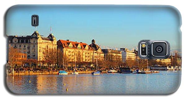 Lake Zurich Panorama Galaxy S5 Case
