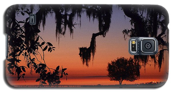 Lakefront Sunset Galaxy S5 Case