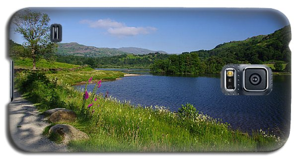 Lakeside Path To Grasmere Galaxy S5 Case by Graham Hawcroft pixsellpix