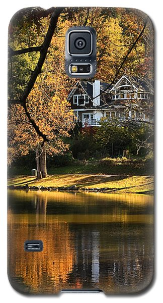 Galaxy S5 Case featuring the photograph Lakeside Reflects... by Tammy Schneider
