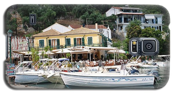 Lakka Harbour On Paxos Galaxy S5 Case