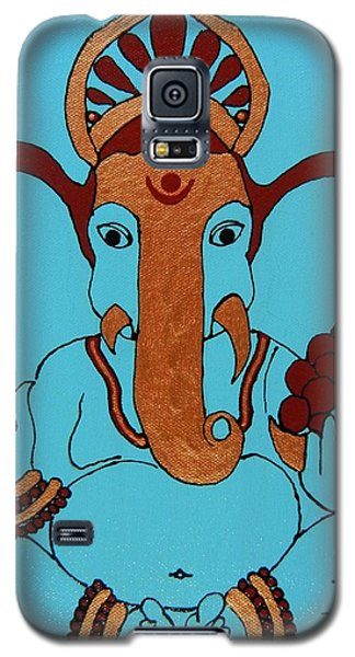 19 Lambakarna-large Eared Ganesha Galaxy S5 Case