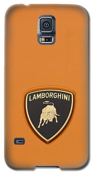 Lambo Hood Ornament Orange Galaxy S5 Case