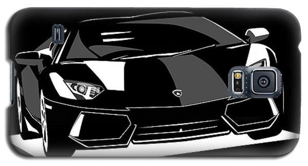 Car Galaxy S5 Case - Lamborghini Aventador by Michael Tompsett