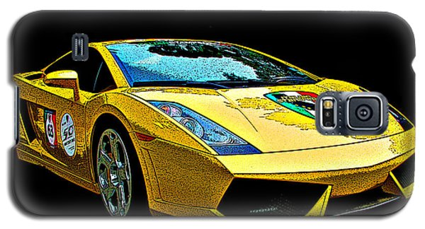 Lamborghini Gallardo 3/4 Front View Galaxy S5 Case