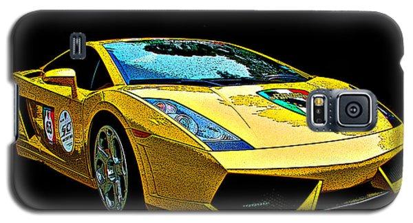 Lamborghini Gallardo 3/4 Front View Galaxy S5 Case by Samuel Sheats