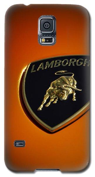 Lamborghini Murcielago Badge Emblem Galaxy S5 Case