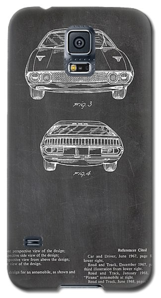 Lamborghini Patent Drawing Galaxy S5 Case