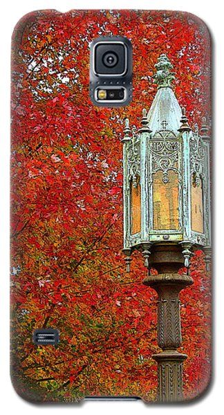 Lamp Post In Fall Galaxy S5 Case