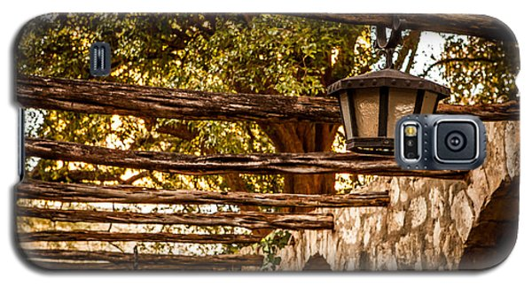Lamps At The Alamo Galaxy S5 Case by Melinda Ledsome