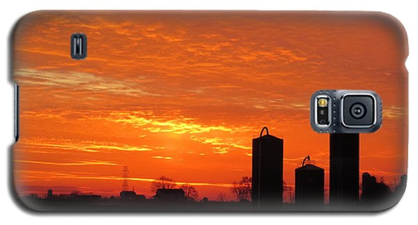 Lancaster County Sunset Galaxy S5 Case by Jeanette Oberholtzer