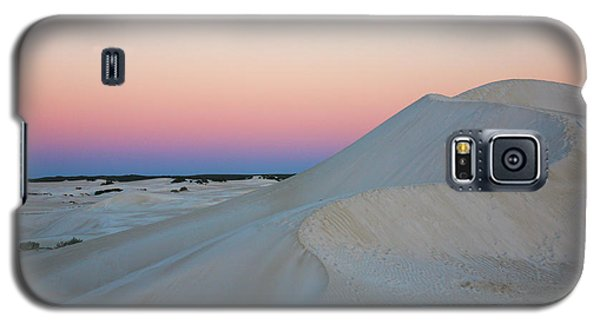 Galaxy S5 Case featuring the photograph Lancelin Sand Dunes by Serene Maisey
