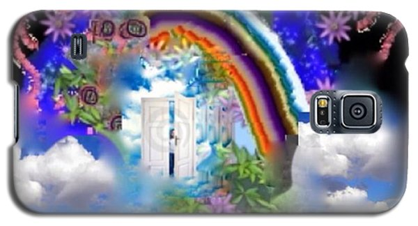 Galaxy S5 Case featuring the digital art Land Of Dreams by Diana Riukas