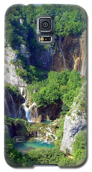 Land Of Falling Lakes Galaxy S5 Case
