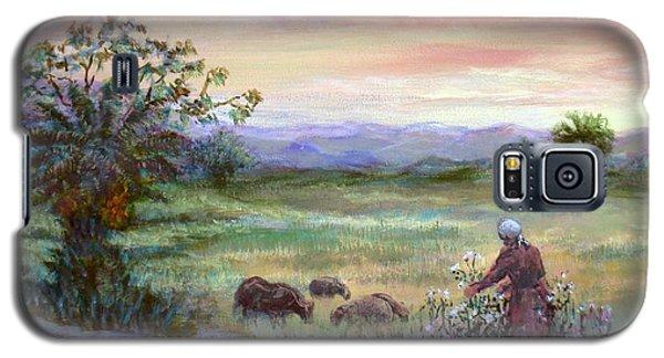 In The Farme  Galaxy S5 Case by Laila Awad Jamaleldin
