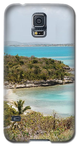 Galaxy S5 Case featuring the photograph Land To Sea by Kathy Gibbons