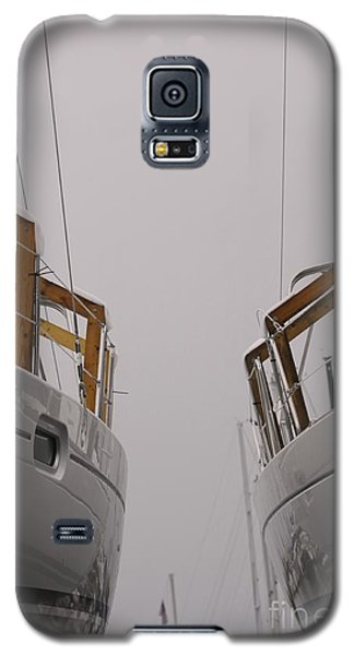 Landlocked On A Foggy Day Galaxy S5 Case by Kate Purdy