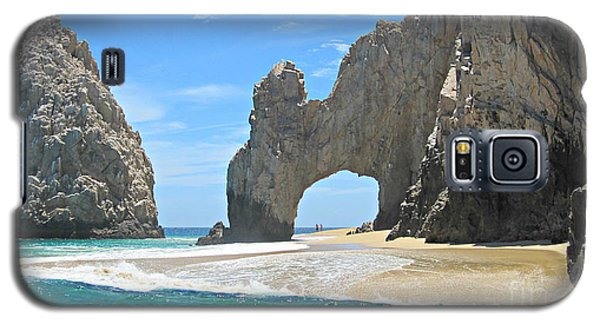 Galaxy S5 Case featuring the photograph Lands End  by Marilyn Wilson
