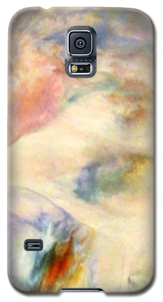 Galaxy S5 Case featuring the painting Landscape 3 by Mike Breau