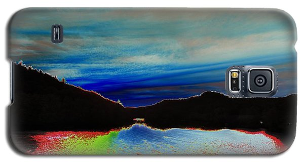 Galaxy S5 Case featuring the photograph Landscape Abstract by Mike Breau