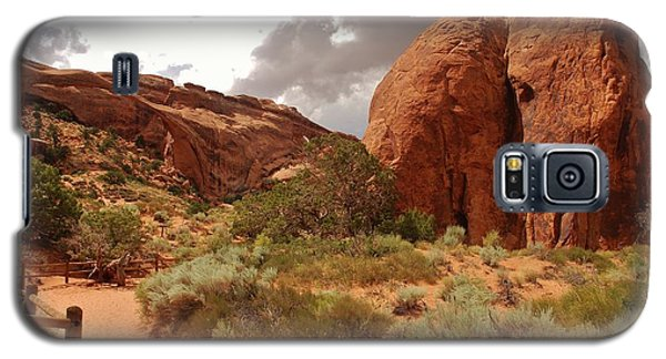 Landscape Arch - Utah Galaxy S5 Case by Dany Lison