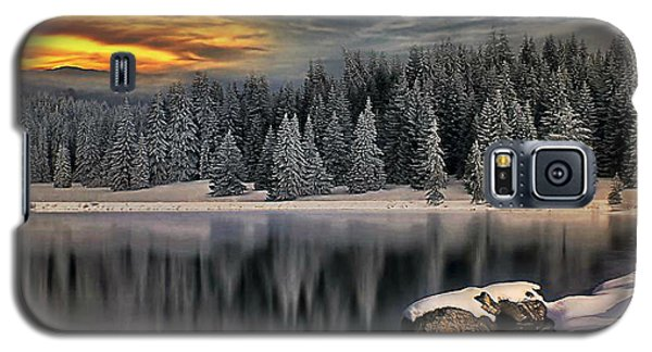 Galaxy S5 Case featuring the photograph Landscape Art by Digital Art Cafe