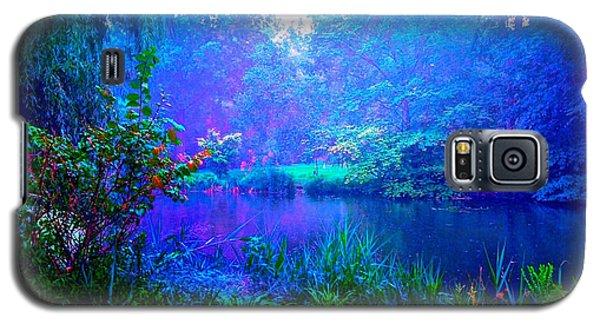 Blue Landscape Galaxy S5 Case