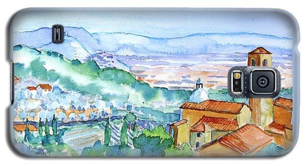 Tuscany Valley  Medieval Village Of Massa Galaxy S5 Case