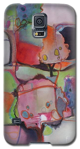 Galaxy S5 Case featuring the painting Landscape by Michelle Abrams