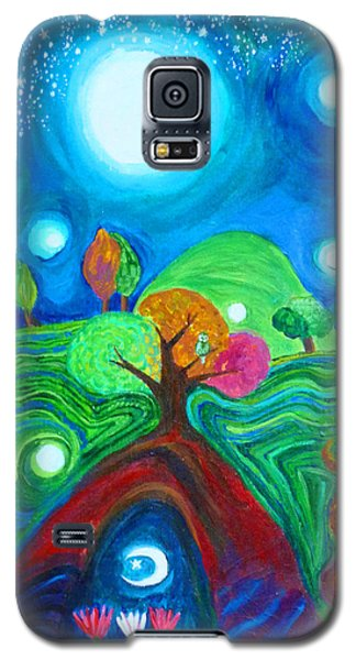 Landscape Of Ancient Dreams Galaxy S5 Case