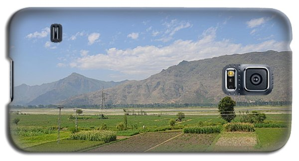 Galaxy S5 Case featuring the photograph Landscape Of Mountains Sky And Fields Swat Valley Pakistan by Imran Ahmed