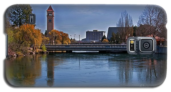 Galaxy S5 Case featuring the photograph Landscape Of Spokane Wa Riverfront Park  by Valerie Garner