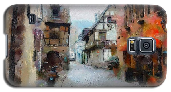 Galaxy S5 Case featuring the painting Lane In France by Wayne Pascall
