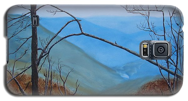 Galaxy S5 Case featuring the painting Lane Pinnacle by Stuart Engel