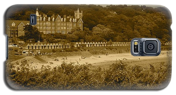 Langland Bay Gower Wales Galaxy S5 Case by John Colley
