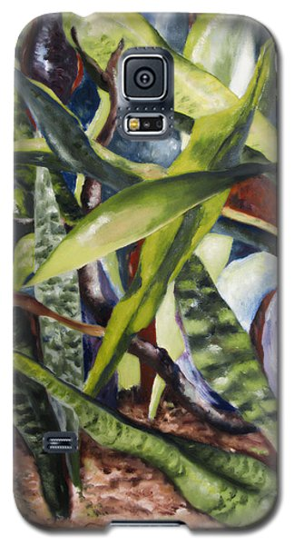 Languid Cactii Galaxy S5 Case by Lisa Boyd