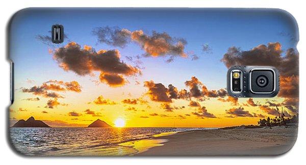 Galaxy S5 Case featuring the photograph Lanikai Beach Bright Sunrise by Aloha Art